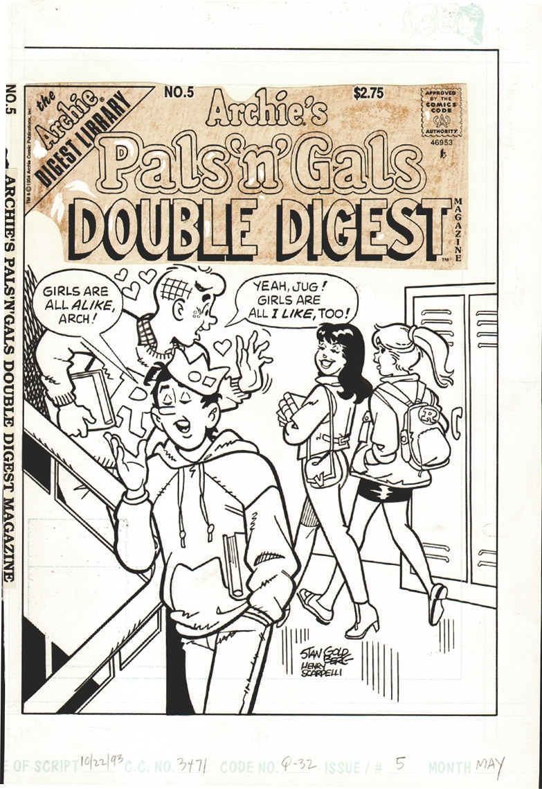 Archie's Pal's n Gal's Double Digest #5 Cover